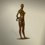 """Blind Date"" Bronze Limited Edition of 28 ~ 24""x8"""