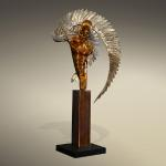 """Broken Angel"" Bronze & Stainless Steel Limited Edition 36 ~ 36""x12""x24"""