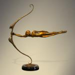 "Focus Bronze  32""x10""x30"" Limited Edition 38"