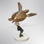 "Tortuga Bronze Limited Edition 36 ~ 18""x18""x24"""