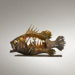 "Defiant Jonah Bronze & Stainless Steel Limited Edition 10 ~ 28""x12""x16"""